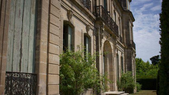 Façade du château d'Assas, appartenant à Marie-Claire Demangel, il est le cadre de deux concerts de l'enregistrement des 555 sonates de Scarlatti par France Musique.