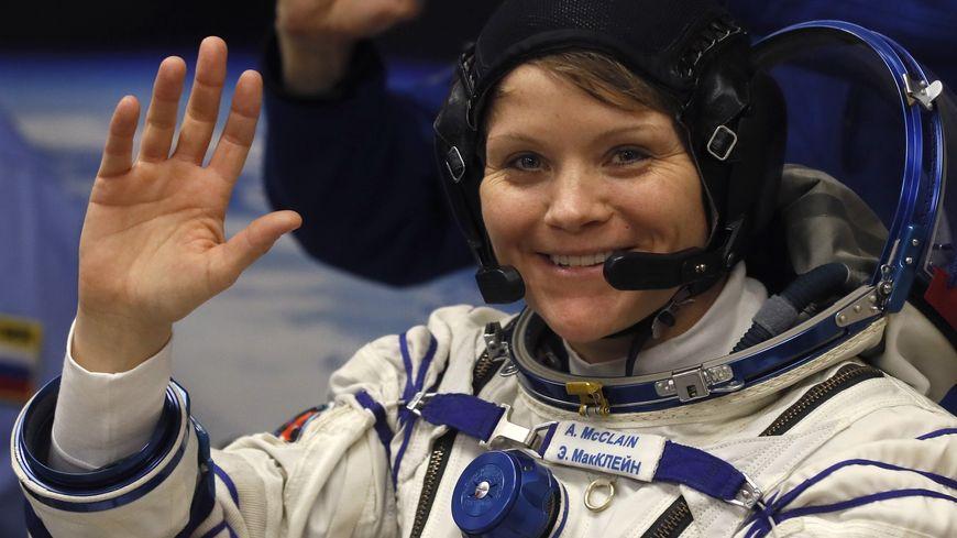 L'astronaute Anne McClain au Kazakhstan, le 3 décembre 2018.