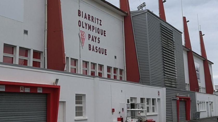 Le parc des Sports Aguiléra abrite le rugby mais aussi l'association omnisports du BO