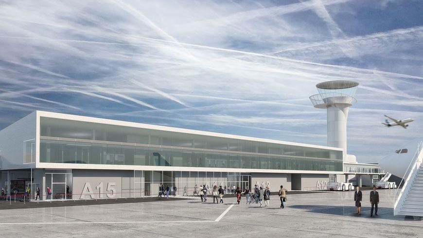 """La nouvelle jetée internationale pour le Hall A prendra le nom de """"Satellite 3""""."""