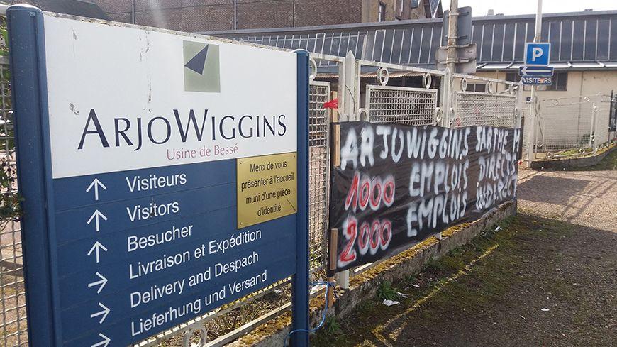 L'usine Arjowiggins de Bessé-sur-Braye
