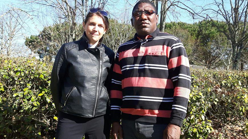 Augustin Santos et Magali Heyman membre de son comité de soutien
