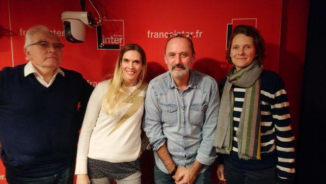 """""""Vous Les Femmes"""", de g. à d. : Albert Algoud, Marie Bastide, Daniel Morin, Claire Nouvian"""