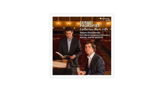 Serge Prokofiev : Concertos pour piano n°1, 3 et 4 HARMONIA MUNDI
