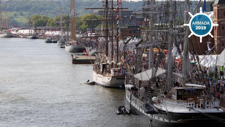 Du 6 au 16 juin 2019, les plus beaux bateaux du monde seront à Rouen pour dix jours de festivités.