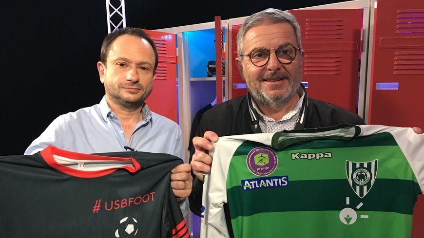 Bruno La Posta, représentant de la Ligue de football des Pays de la Loire