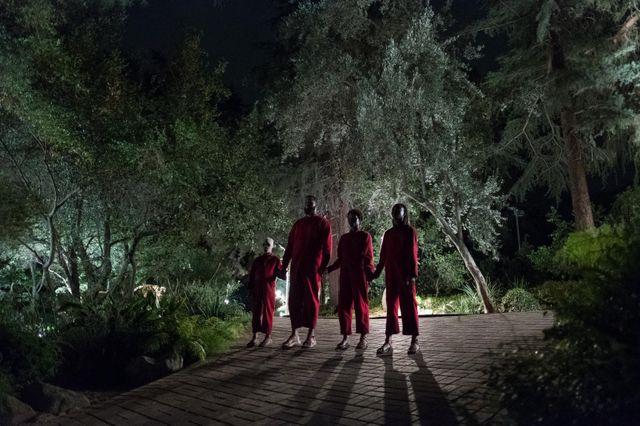 """Scène du film """"Us"""", nouveau thriller horrifique de Jordan Peele (réalisateur de """"Get Out"""")"""