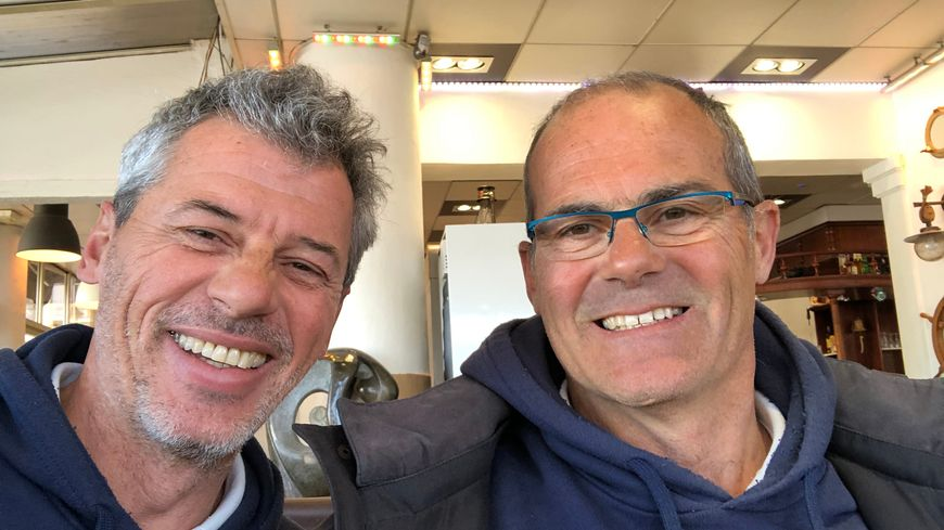Sébastien et Jean-Guillem Destremau