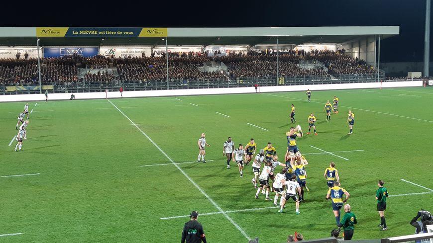 Après 12 victoires de rang, Nevers tombe sur son terrain où Brive s'impose 31-28