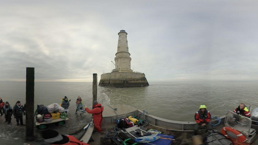 Immersion au phare de Cordouan en vidéo 360 et son 3D