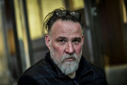 L'acteur belge Bouli Lanners, lors d'une séance photo, le 19 mars 2019, à Paris