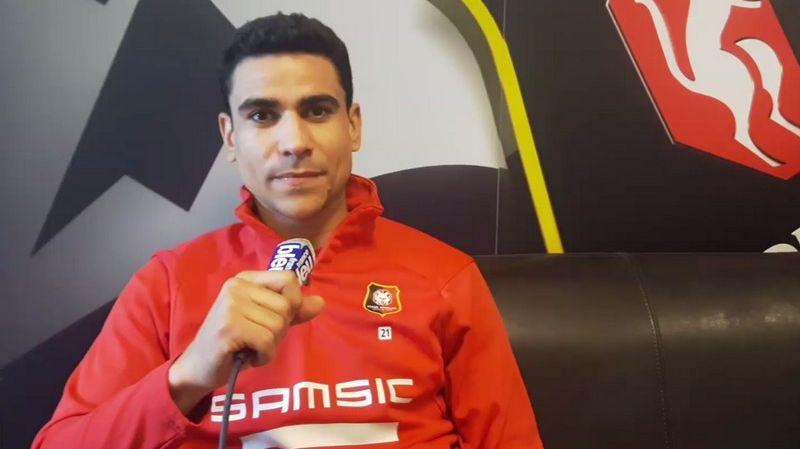Le capitaine du Stade Rennais, Benjamin André.
