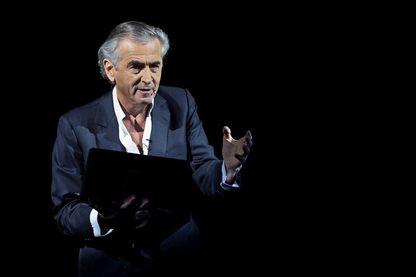 Bernard-Henri Lévy, auteur et acteur de la pièce « Looking For Europe »