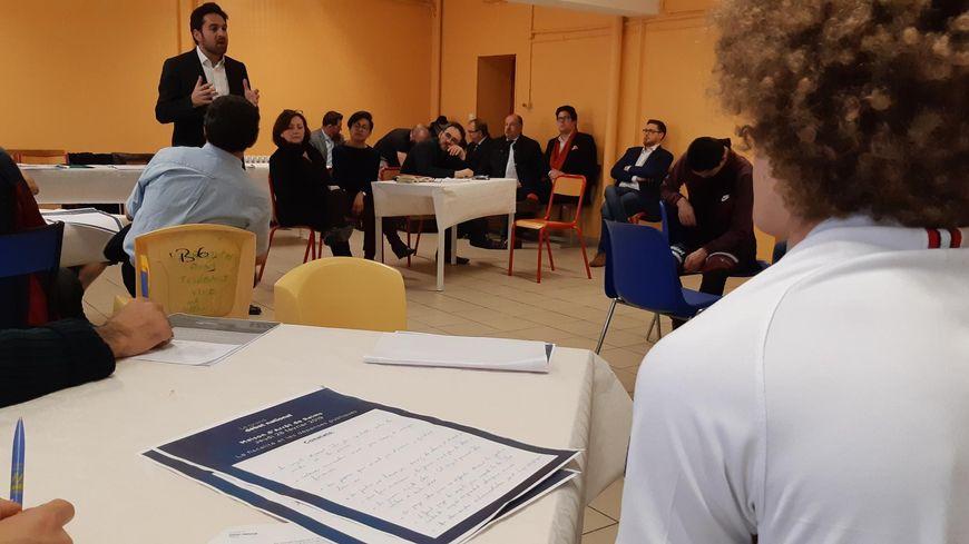 Une vingtaine de détenus ont participé à ce Grand débat à Reims