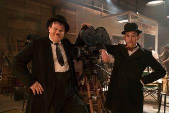 """John C. Reilly et Steve Coogan, sur le tournage de """"Stan & Ollie"""", sur le duo historique Laurel et Hardy (sortie le 06 mars 2019)"""