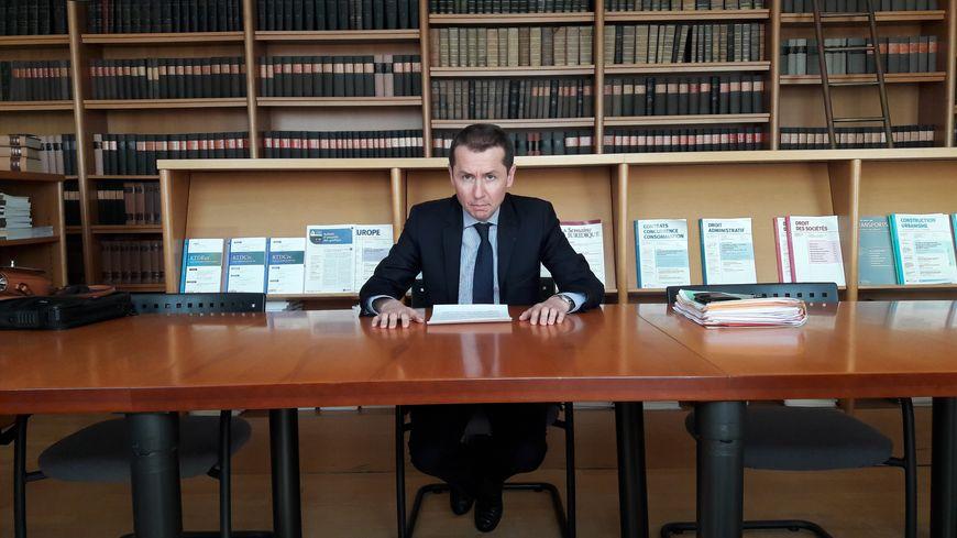 Nicolas Heitz, procureur de la République d'Epinal