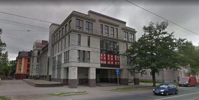 Ancien emplacement de la ferme à trolls russe, l'Agence de recherche internet (IRA), à Saint-Pétersbourg
