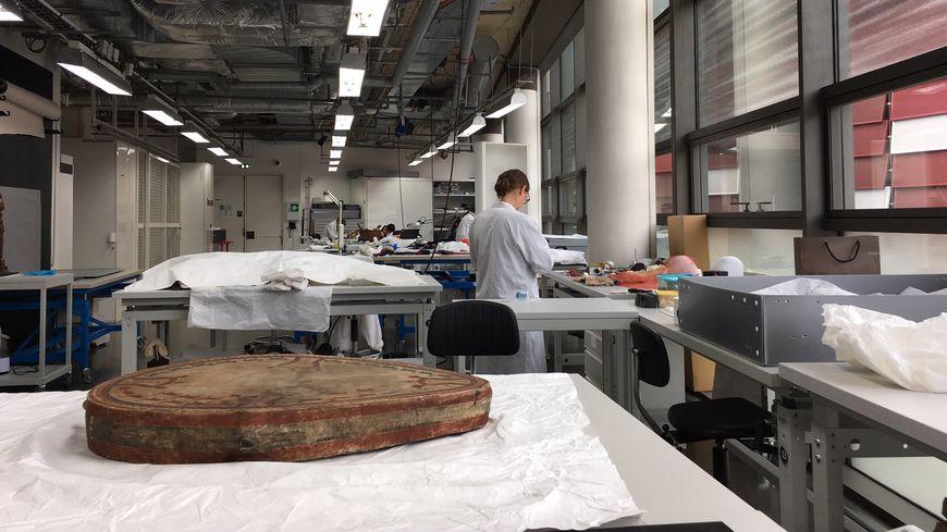 Atelier de restauration du Musée du Quai Branly Jacques Chirac