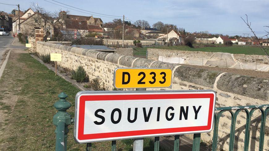 Souvigny, dans l'Allier
