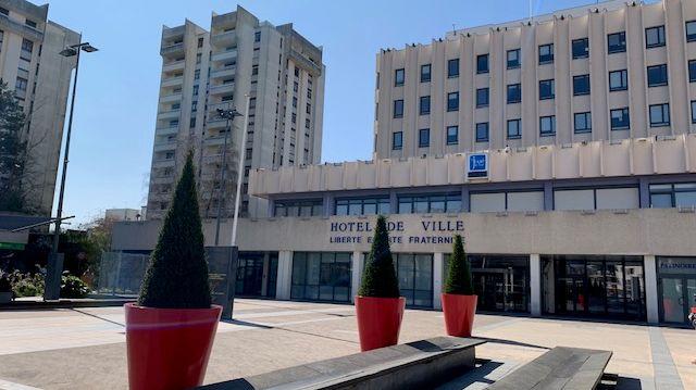 L'hôtel de ville de Joué-les-Tours