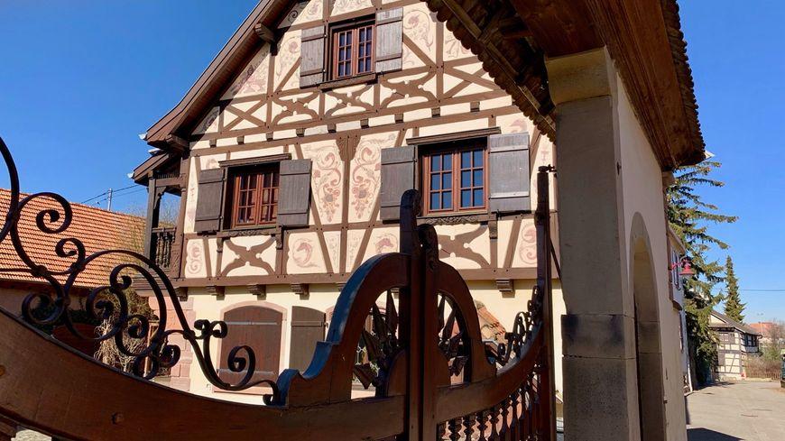Stutzheim-Offenheim, colombages il y a