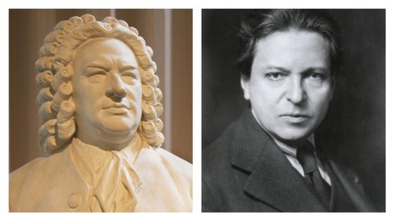 Bach et Georges Enesco