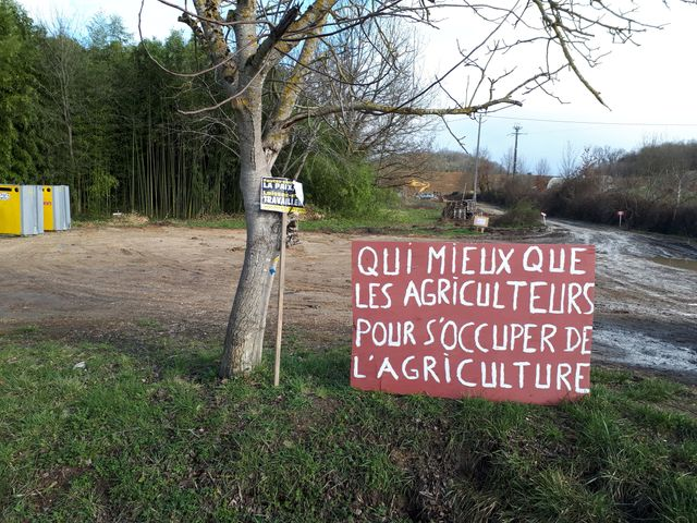 Un chantier défendu par le syndicat agricole Coordination rurale
