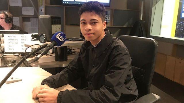 Thimothé Durelle, lycéen orléanais, invité de France Bleu Orléans