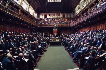 La Chambre des communes lors d'un débat en 1986