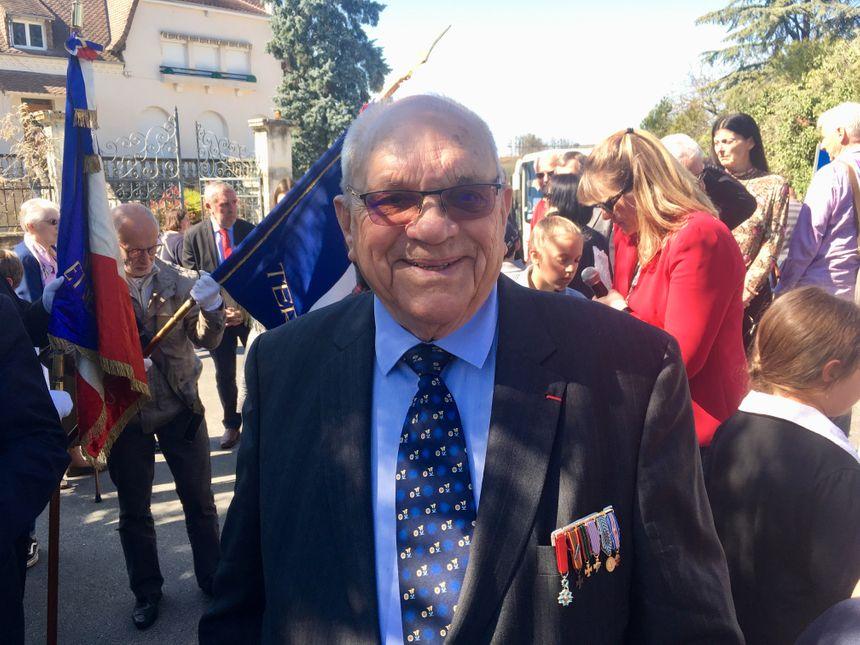 Lucien Cournil, 93 ans, est un ancien résistant dans le Terrassonnais.