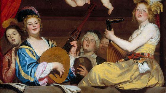 Gerrit Van Honthorst, Le Concert (1624)