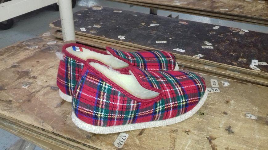 La traditionnelle pantoufle charentaise