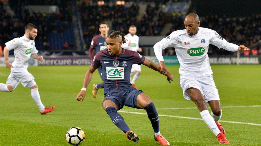 Jérémy Sorbon, lors du quart-de-finale, contre le Paris SG.