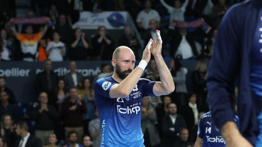 L'ailier Vid Kavticnik était au Montpellier Handball depuis 2009 © Patricia Sports