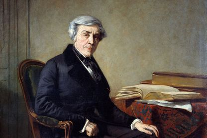 Portrait de Jules Michelet par Thomas Couture
