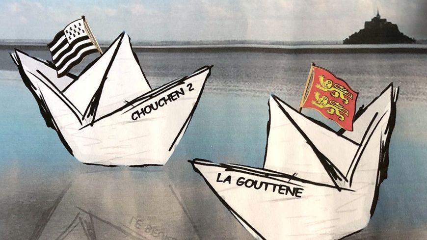 Le chœur des Marins du Cotentin & les Boulinerien en concert à Cherbourg