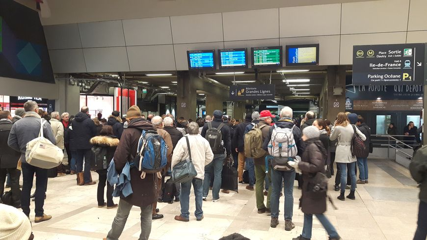 Gare Montparnasse (image d'illustration)
