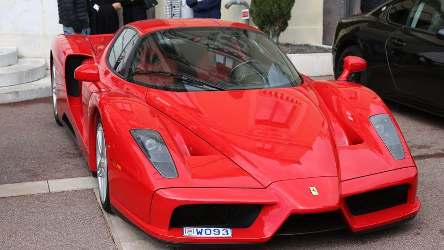 Photo d'illustration d'une Ferrari rouge