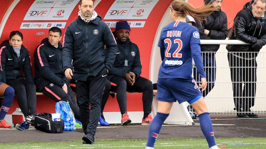 DFCO féminin - PSG : 18eme journée au stade des Poussots