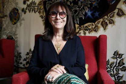Portrait de l'artiste plasticienne, photographe, femme de lettres et réalisatrice, Sophie Calle à Marseille, le 23 janvier 2019.