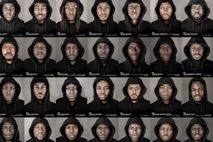 56 black men, projet photo de Cephas William (capture d'écran de son compte Instagram @cephaswilliams