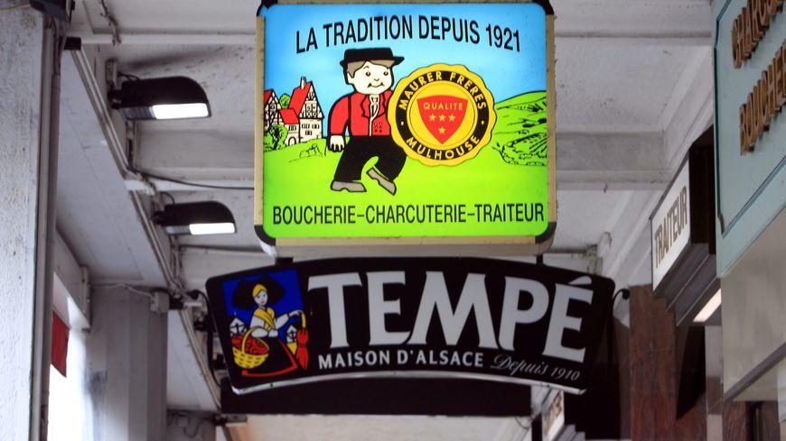 L'enseigne de l'entreprise Maurer Tempé