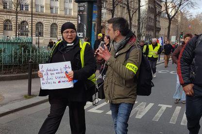Couverture d'une manifestation Gilets Jaunes