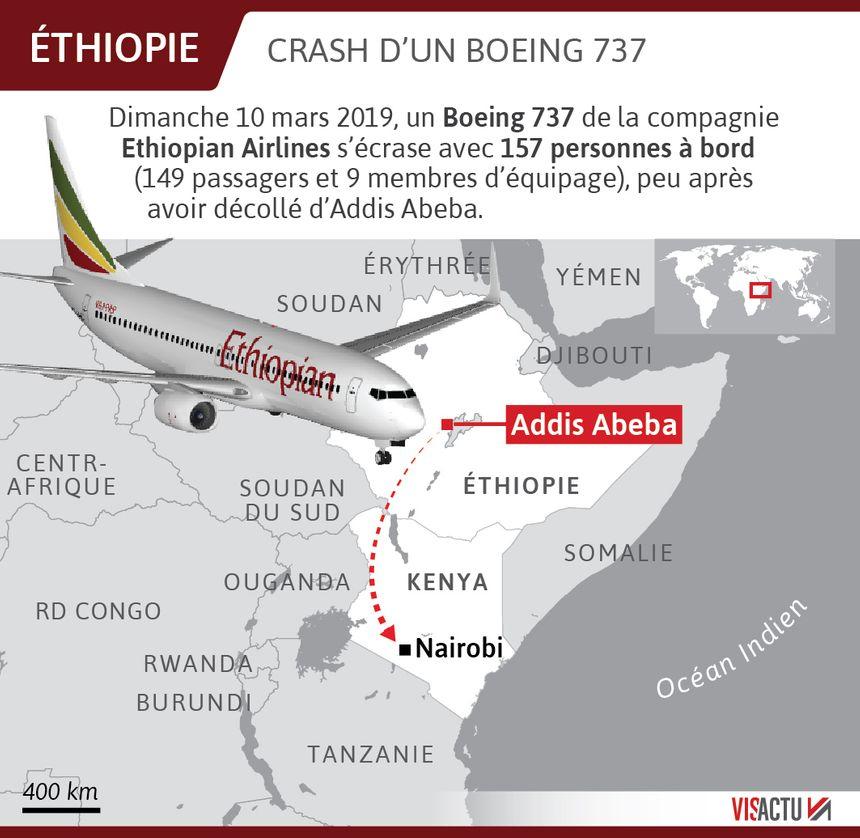 Crash d'un Boeing 737 avec 157 personnes à bord.