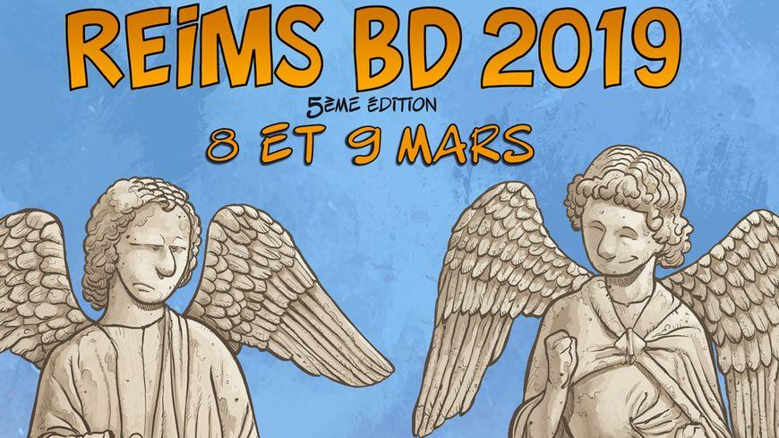 Affiche Reims BD 2019
