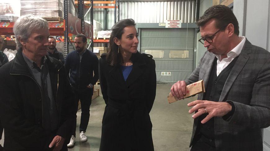 Juste Bio a même reçu la visite de brune Poirson secrétaire d'État à la transition écologique et solidaire.