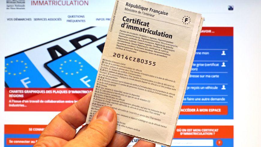 faire une demande de carte grise en ligne Indre et Loire   Le nouveau système de carte grise en ligne ne