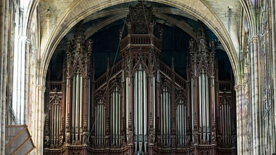 Orgue de la cathédrale Saint-Denis