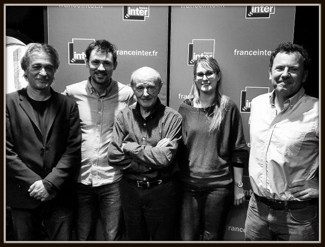 Titouan Lamazou, Matthieu Tordeur, Jean-Louis Etienne, Ludivine Oruba et Emmanuel Dormy