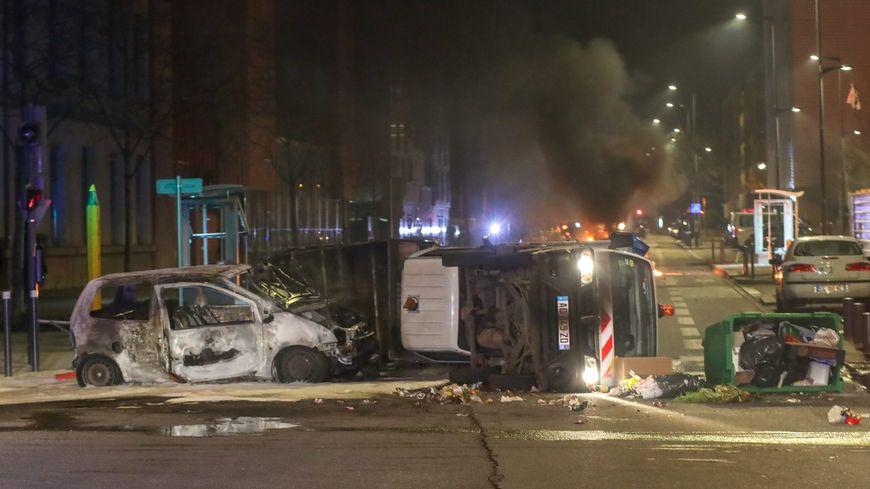 Émeutes quartier Mistral à Grenoble